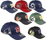 New Era New England Patriots 9fifty Stretch Snapback Cap Established Number Navy - S-M