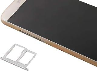 SIMSDCARDTRAY+ / SIMカードトレイ+マイクロSD/SIMカードトレイ用for LG G5 / H868 / H860 / F700 / LS992,スマートフォン交換部品 (Color : Grey)