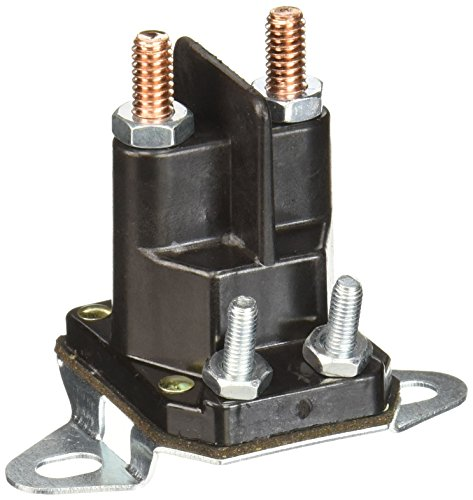 Oregon 33-334 Solenoid, 4 Post, Grey/Black