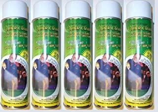 Quick Clean 5 Cans, Pool Table Felt Cloth Cleaner