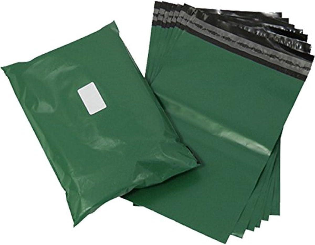 Triplast 14 New life x 20-Inch Plastic Mailing Olive Postal Ranking TOP1 Bag - Green