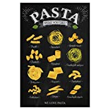 artboxONE Poster 30x20 cm Essen & Trinken We Love Pasta III