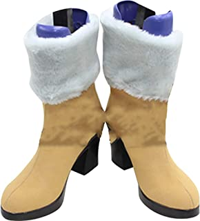 Whirl Cosplay Boots Shoes for Final Fantasy 13 Oerba Dia Vanille