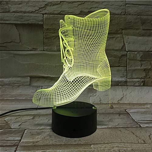 8bayfa Lamparas De Mesa bureau 3D-lamp acryl 3D bedlampje voor kinderkamer Kerstmis cadeaus voor kinderen tafellampen