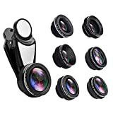 Camera Lens Kit for iPhone Samsung and Other Smartphone, 6-in-1...
