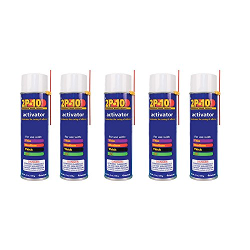 FastCap 2P-10 Professional Adhesive Activator for FastCap 2P-10 Glue, 5-Pack