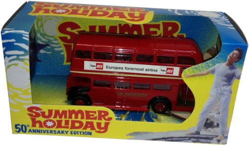 Richmond Toys RT1963 Richmond Toys Special Edition 50th Anniversary 1963 Summer Holiday Movie Die-Cast Bus