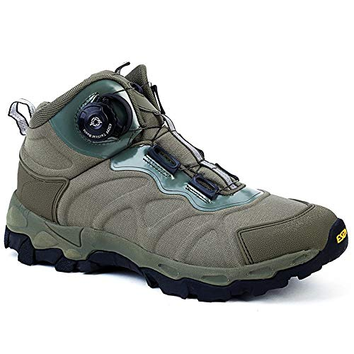 NEW VIEW Hiking Boots Military Men BOA Lacing System Hiking Shoes (02, 10.5)