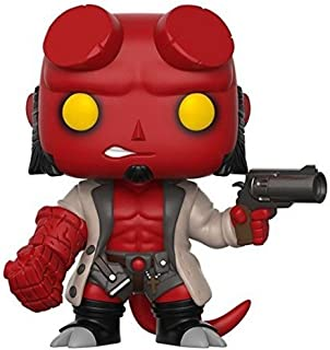 Funko Pop Comics: Hellboy No Horns Collectible Vinyl Figure (styles may vary)