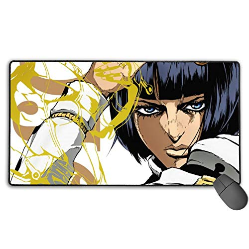 Personalized Mouse Pad,JoJo's Bizarre Adventure  Waterproof Office Mat,Adhesion Without Deformationprotective Case for Laptop Office Office Labor Day