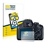 brotect Pellicola Protettiva Vetro Compatibile con Canon EOS 4000D Schermo Protezione, Estrema Durezza 9H, Anti-Impronte, AirGlass