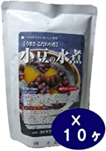 Boiled of Kojima Foods adzuki bean <230g> 10 Kekesu sales goods