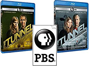 The Tunnel: Complete Seasons 1 & 2 Blu-ray Set (Crime Scene Without Borders & Sabotage)
