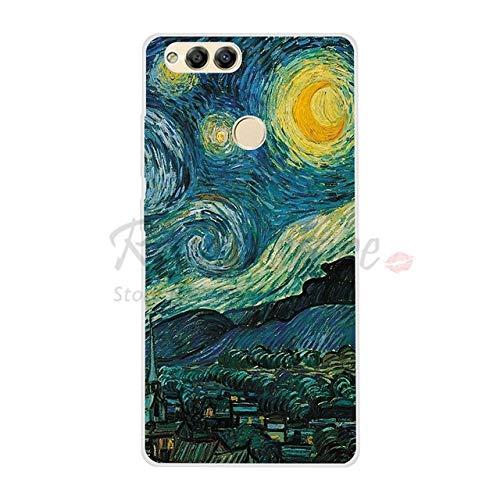 Für Huawei Honor 7x7x case weiche silikon rückseitige Abdeckung case für Honor Play 7X honor7x case Abdeckung 4g Handy zubehör für Honor 7X schwarz