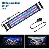 FTALGS Aquarium LED Beleuchtung Aquariumbeleuchtung Weiß Blau Rot Grün von