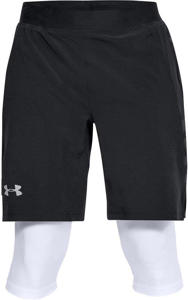 Under Armour Mens Speedpocket Long 2-in-1 Shorts
