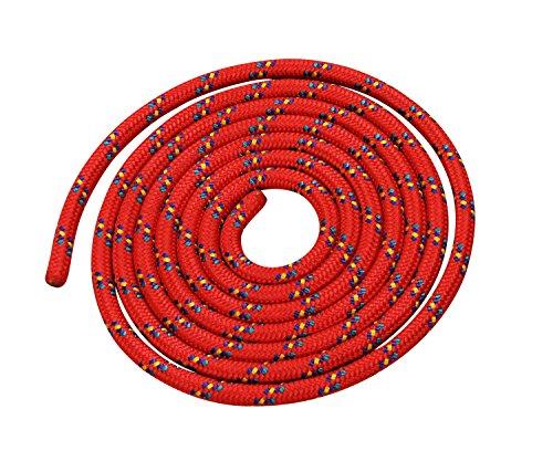 Vinex Seilspringen - Springseil 3 Meter - schönes Muster - rot