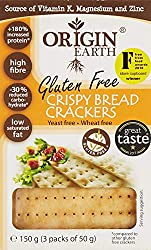 Origin Earth Gluten Free Crackers, 150g