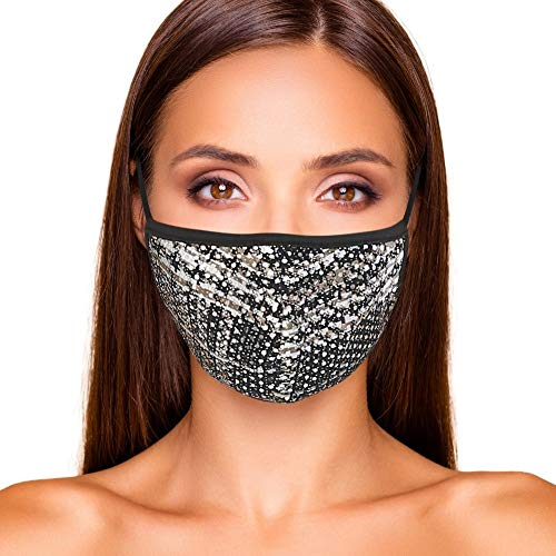 Cloth Face Mask Cute Fashionable Women Designs are Washable, Breathable and Reusable