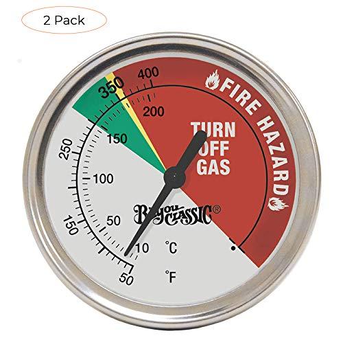 Amazing Deal Bayou Classic 5070 Bayou Fryer Thermometer (Twо Расk)