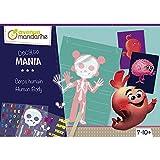 Avenue Mandarine KC096C - Creative Decalco Mania Caja del Cuerpo Humano Incluye 2 Figuras, 2 Hojas d...