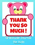 Thank You So Much. Gratitude journal for kids.: Grateful journal For Kids Cute blue cover 150 lined pages 8,5' x 11'