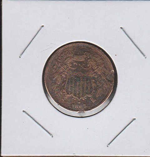1865 Shield Two Cent (1864-1873) Two-Cent Very Fine