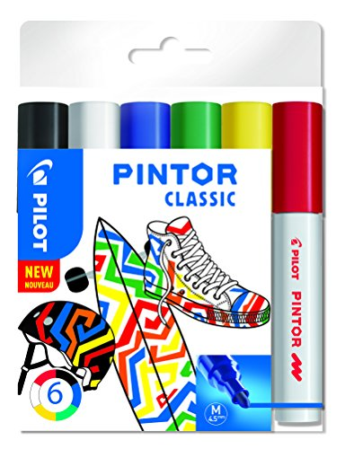 Pilot Pigmentmarker Pintor, fein M Assorted Classic