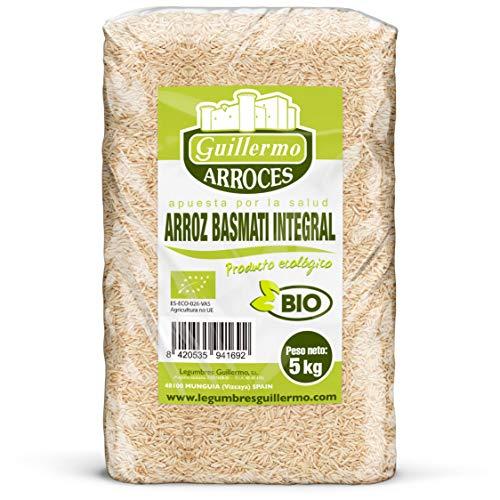 Guillermo Reis Basmati Integral Granel Bio 100% Natural 5kg