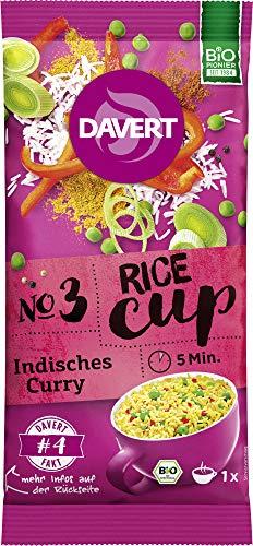 Davert Bio Rice-Cup Indisches Curry (2 x 67 gr)