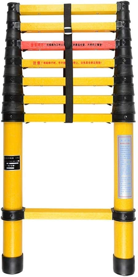 OFFicial shop Easy-to-use WGGGF Telescoping Extension Long Ladders Folda Ladder Insulation