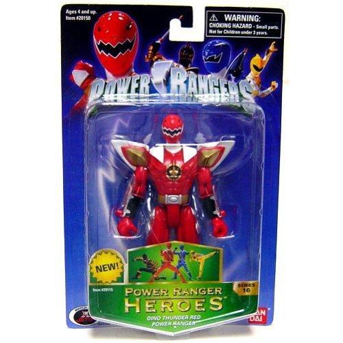 Power Rangers Heroes Dino Thunder Series 16 Action Figure Red Ranger