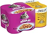 Whiskas Chunks Poultry Selection in Jelly (6x390g)