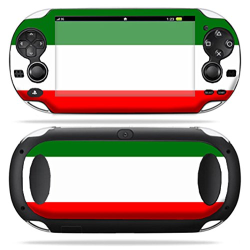 MightySkins Skin Compatible with PS Vita PSVITA Playstation Vita Portable wrap Sticker Skins Italian Flag