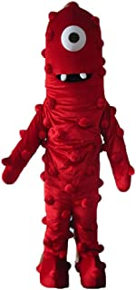 Funny Adult Yo Gabba Gabba Muno Mascot Costume for Party Cartoon Costumes