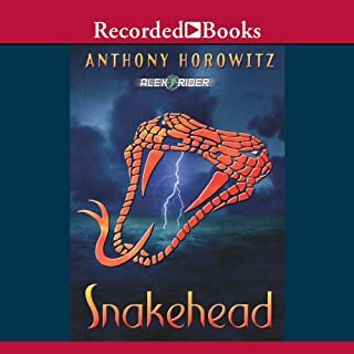 Snakehead     An Alex Rider Adventure              Written by:                                                                                                                                 Anthony Horowitz                               Narrated by:                                                                                                                                 Simon Prebble                      Length: 9 hrs and 45 mins     1 rating     Overall 5.0