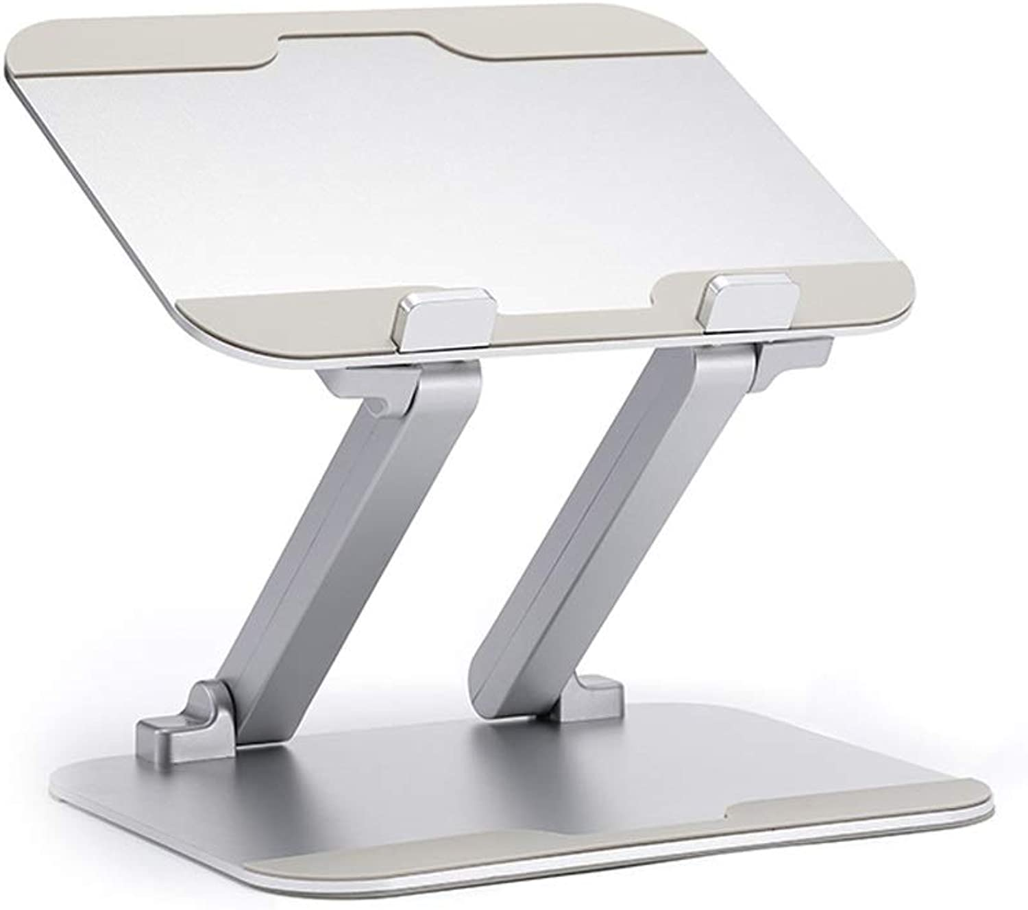 JSFQ Aluminum Folding Table Lightweight Plate, Computer Table Simple Lifting Bracket   27 × 21 × 30cm Folding Table