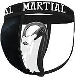 Coquilla Martial con 2 tamaños de Copa para un Ajuste Ideal. ¡Protección de los genitales con una Gran Libertad de Movimiento! Protección inguinal con el Mejor Ajuste y Cintura elástica.