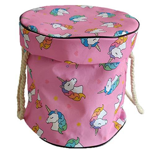 Eillybird - Cesto portaoggetti pieghevole in feltro, grande contenitore per giocattoli, armadio e ripostiglio, per casa, ufficio, armadio, giocattoli, armadio