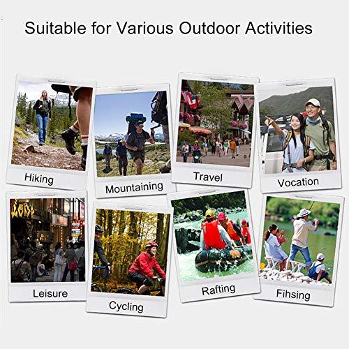 Outdoor Erste-Hilfe-Tasche Notfalltasche Medzinische Hilfe für Outdoor Aktivitäten wie Camping Radfahren Klettern Wandern ( Farbe : Grün ) - 8