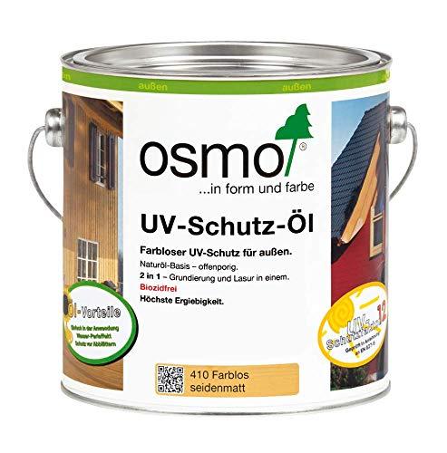 Osmo UV - Schutzöl 410 UV-Schutz für den Aussenbereich biozidfrei 2,500 L