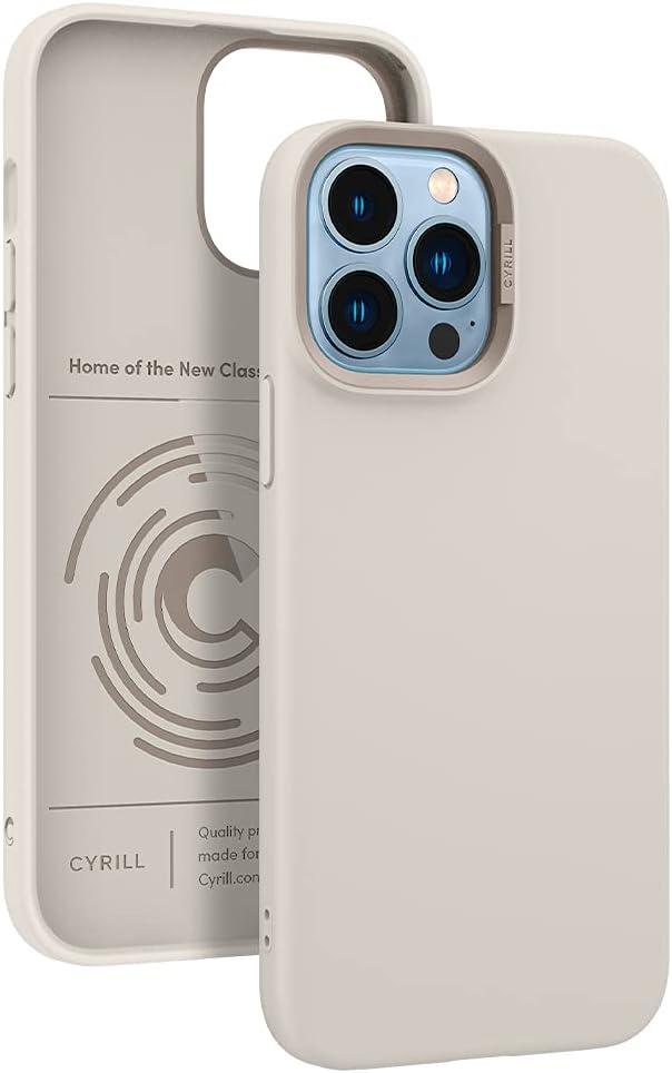 CYRILL Color Brick Designed for iPhone 13 Pro Max Case (2021) - Cream