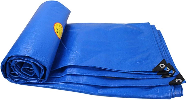 blueee Rain Cloth Thickened Rainproof Cloth Waterproof Sunscreen Tarpaulin Canopy Cloth Plastic Cloth Rain Cloth Truck Tarpaulin