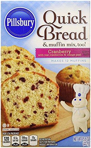 Pillsbury Cranberry Quick Bread Mix - 15.6 oz