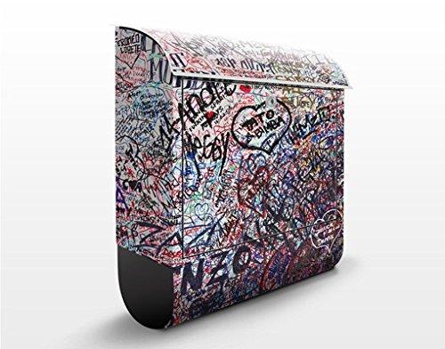 Briefkasten mit Zeitungsrolle Verona 46cm x 39cm