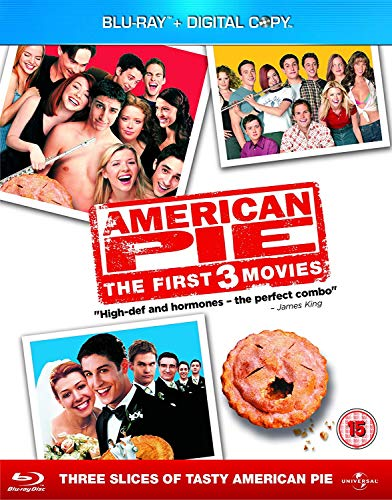 American Pie 1-3 Blu-ray Boxset (Blu-ray + Digital Copy)