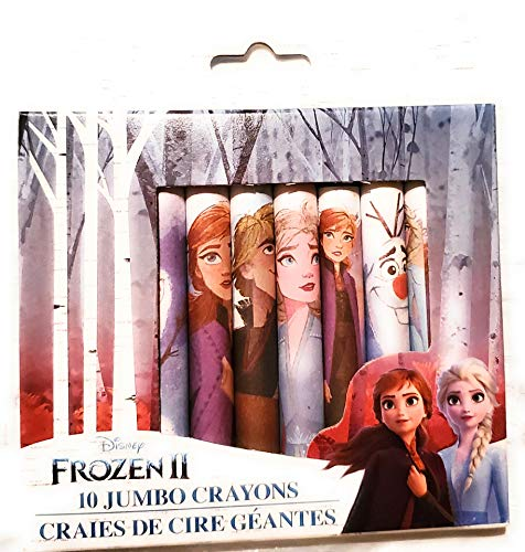 Peachtree Frozen 10 Crayon Jumbo Pack