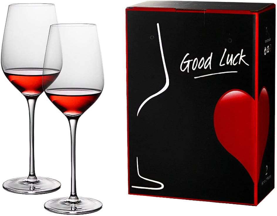 Red Wine Max 61% OFF NEW Glasses Set of 2 Premium glas Beautifully Gin Crafted