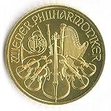 ウィーン金貨ハーモニー1 2 オーストリア造幣局封筒付き