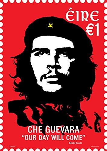 Póster de Che Guevara (excelente calidad y alta resolución), nuestro día llegará, Bobby Sands, líder revolucionario, A3 (11.69 X 16.54 - 2 A4 Pages)